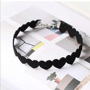 Jewelry - 💎 Black Hearts Chocker Necklace
